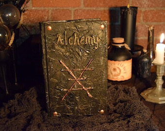 "Halloween Spell Book ""Alchemy"""