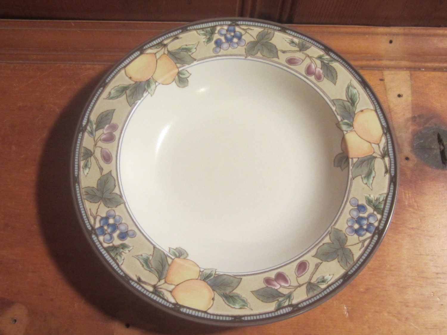 Mikasa Garden Harvest Intaglio Cac29 Soup Cereal Pasta Bowl