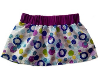 Short skirt, skirt circles color, skirt girl, summer skirt