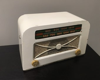 1947 Hoffman A309 Tube Amp Radio designed by Charles and Ray Eames / Mid Century Modern