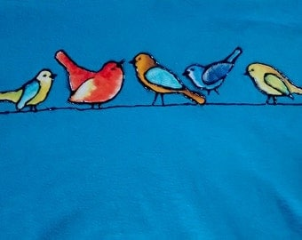 Bird Shirt (Blue)
