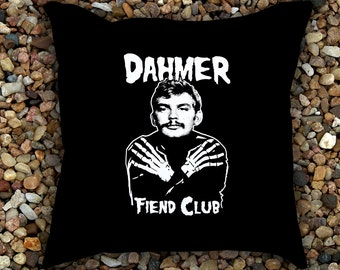 Jeffrey Dahmer Fiend Club Pillow