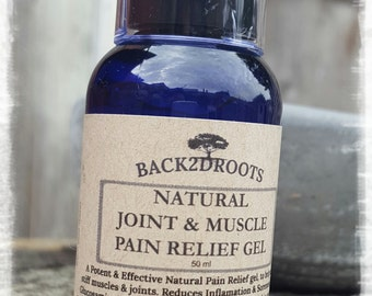 Natural Joint & Muscle Pain Relief Gel
