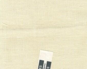 """32 Count Cream Linen by Zweigart - Half Yard  (36"""" x 27"""") #42"""