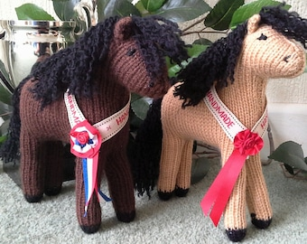 Handmade Knitted Collectable Ponies