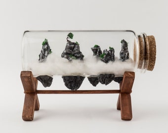 China Canyon Mini Mountains Clay Miniatures / Sculptures / Decorations / Bottle Terrarium