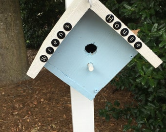 WREN BIRD HOUSE
