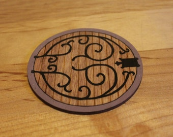 Hobbit Door Coaster