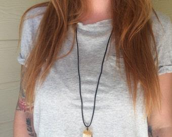 Calcite Honey Necklace