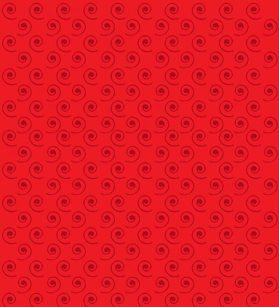 Red Swirl- Quilt Camp Collection