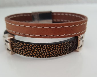 """""""Serenity"""" leather strap"""