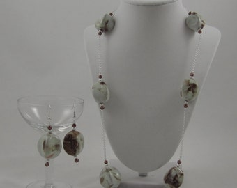 Earthly Clay Matching Jewelry Set