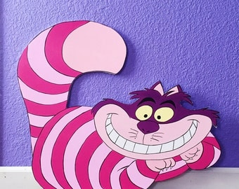 2 FT Cheshire Cat Cutout Standee Party Prop Alice in Wonderland Photo Prop