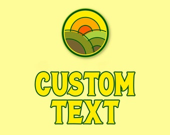 ADD-ON, Custom text Change text