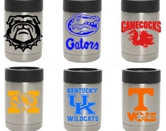 College and Pro Football Yeti Colster 12oz