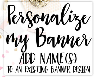 Personalized Banner add-on