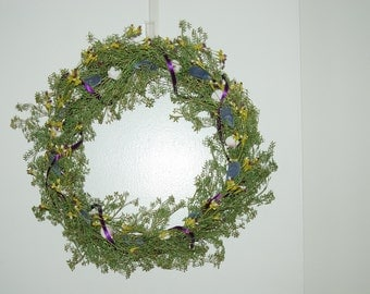 Mussel and Scallop Shell Wreath