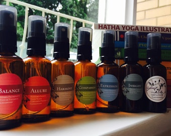 Chakra Blends : Essential Oil Natural Spray Mist