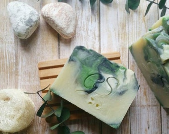 Eucalyptus Mint Soap | Handmade Soap | Organic Soap | Soap Gift | Natural Soap | Vegan Soap | Spa Gift | Bath and Body Gift | Bath Gift