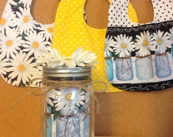 A Jar Full of Daisy's bib collection