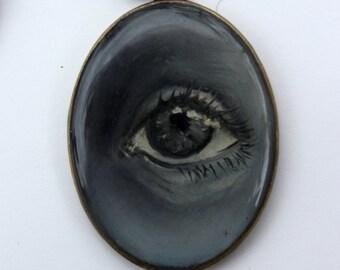 Black and White Lover's Eye