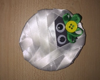 Cute Mummy Head Hairclip