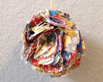 Fabric Pom Pom (1 Small Pom)