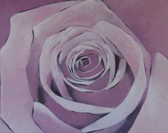 LA VIE en ROSE  8x10 fine art print, rose art