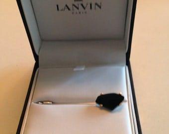 Lanvin Crystal Tie Pin