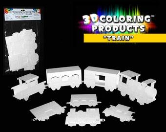 3d coloring train