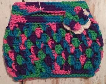 Kid crochet purse
