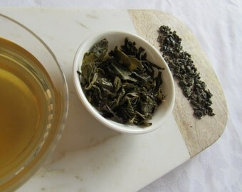 Moroccan Mint Tea, Green Tea, Mint Infusion, Herbal Tea, Healthy Boost, Antioxidants, Loose Leaf Tea, Relax and Unwind, InfiniTeas