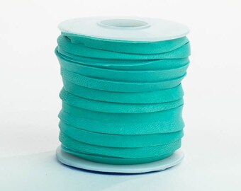 Turquoise Deerskin Lacing - (1) 50 foot spool, 3/16th inch lace (297-316x50TQ)
