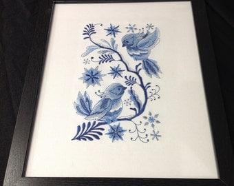 Delft Blue Cardinals