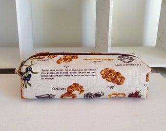 Long box pouch - bakery