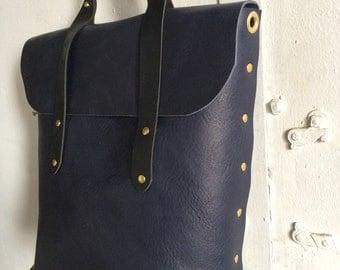 Custom navy and black rucksack(reserved)