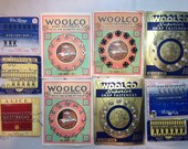 Vintage sewing Accessories Snaps Hooks Eyes Woolco Alice Clinton Brands