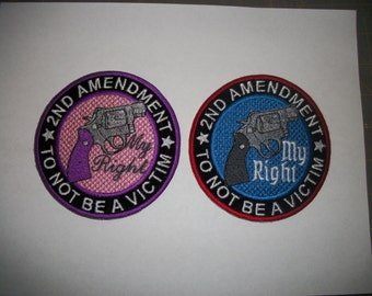 2nd Amendment Gun Patch