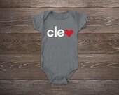 Baby Onesie - Cleveland Love