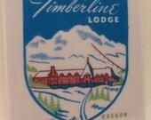 Timberline Lodge Mt Hood Oregon Tile Coaster