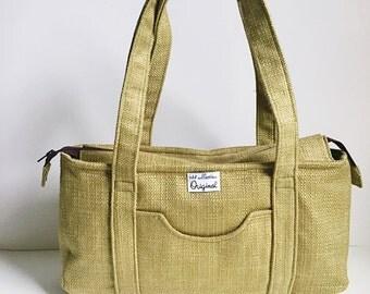 Green Purse for Women, Tote Handbag for Women, Green Purse, Travel Shoulder Bag for Women, Summer Purse, Travel Tote Handbag, Ladies Handbag