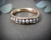south sea pearl ... 14k gold ring