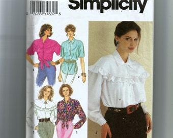Simplicity Misses' Blouses Pattern 8619