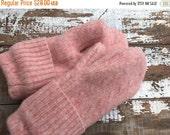 40% FLASH SALE- Purple Wool Mittens- Cable Knit-Women-Teen