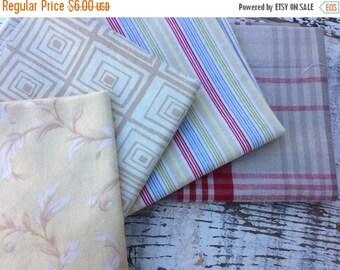 40% OFF FLASH SALE- Fat Quarter Bundle- Rustic Play  -Reclaimed Bed  Linens