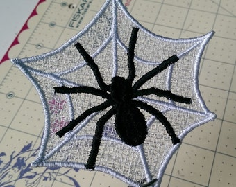 Free Standing Lace Spider Webs - 4x4 inch - Pick your own colors