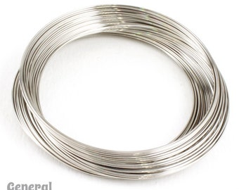 Stainless Steel Memory Wire- Large Bracelet (1 Oz.)  #WRN004