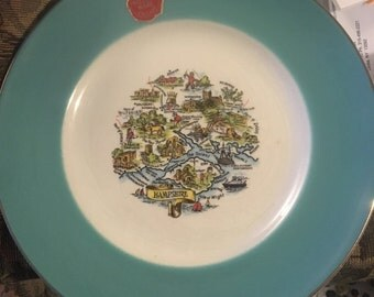 Prince William Ware Collector Plate Hampshire England