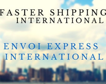 Deadline for Christmas: December 10   ~   FASTER SHIPPING - International
