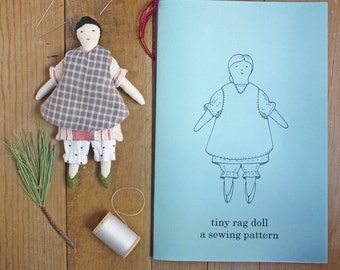 tiny rag doll : print edition